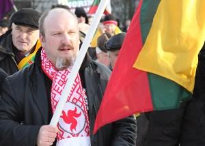Na czele inicjatywy referendalnej przeczącej członkostwu Litwy w UE stoją, m. in. nacjonaliści, którzy w raportach służb są wymieniani jako narzędzie wpływów wrogich Litwie obcych wywiadów Fot. Marian Paluszkiewicz