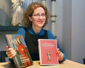 W swojej książce Sigita Maslauskaitė-Mažylienė przedstawia genezę wizerunku św. Kazimierza Fot. Marian Paluszkiewicz
