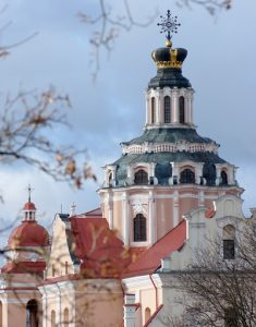 Kościół św. Kazimierza w Wilnie został skonfiskowany katolikom i przebudowany na cerkiew Fot. Marian Paluszkiewicz