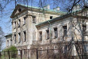 Zaniedbany pałac potrzebuje remontu Fot. Marian Paluszkiewicz