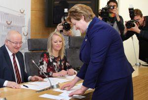 Tegoroczne wybory do Parlamentu Europejskiego odbędą się 25 maja                                                               Fot. Marian Paluszkiewicz