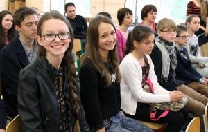 Udział w konkursie wzięli uczniowie polskich szkół z Wilna<br/>Fot. Marian Paluszkiewicz