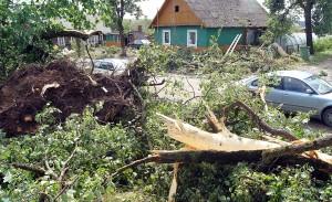 W naszym kraju najczęściej huragany zdarzają się wiosną Fot. Marian Paluszkiewicz