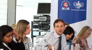 W Wilnie odbyło się posiedzenie Podkomisji Międzynarodowej Organizacji Izb Kontrolerskich do Spraw Standardów Wewnętrznych Fot. Marian Paluszkiewicz
