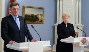 Zmaganie prezydent z koalicją rządzącą o skład nowego-starego rządu ewentualnie potrwają do połowy lipca                                          </br> Fot.  ELTA
