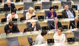 Sejm wczoraj wreszcie przyjął pod obrady projekt ustawy o pisowni nielitewskich nazwisk        Fot. Marian Paluszkiewicz