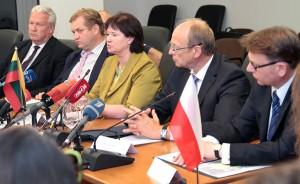Przedstawiciele Litwy, Łotwy, Estonii oraz Polski zdecydowali o powołaniu grupy roboczej do walki z wirusem ASF Fot. Marian Paluszkiewicz