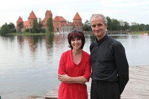 Neringa i Arvydas Mišeikisowie od 10 lat stwarzają możliwości rozwoju i wzrostu młodych talentów muzycznych na Litwie Fot. archiwum