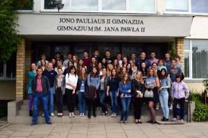 Spotkanie młodzieży miało miejsce w Gimnazjum Jana Pawła II</br>Fot. WMP