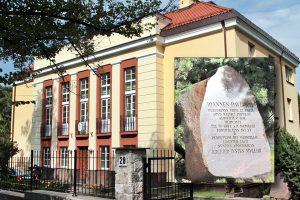 W czasie pielgrzymki na Litwę w nuncjaturze papieskiej mieszkał Ojciec Święty — Jan Paweł II Fot. Marian Paluszkiewicz