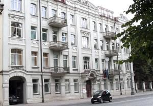 Kamienica nr 6 przy ul. Wróblewskiego, w której często bywał Czesław Miłosz Fot. Marian Paluszkiewicz
