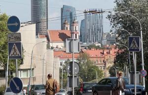Panorama Śródmieścia z ulicy Sierakowskiego  Fot. Marian Paluszkiewicz