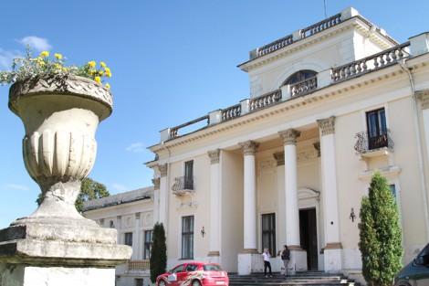 Wygląd frontowy pałacu Tyszkiewiczów Fot. Marian Paluszkiewicz