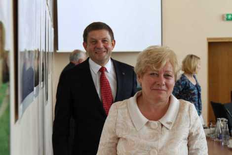 Zdzisław Palewicz i Maria Rekść<br> Fot. Marian Paluszkiewicz