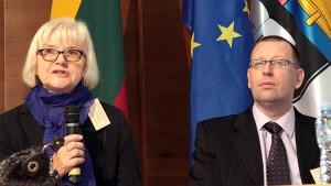 Przewodniczącymi pierwszej części konferencji byli prof. Alicja Nagórko oraz prof. Piotr Borek Fot. Marian Paluszkiewicz