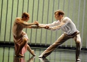 """Scena z baletu """"Čiurlionis"""" Fot. archiwum"""