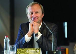 Dyrektor największej placówki kulturalnej na Litwie Gintautas Kėvišas Fot. archiwum