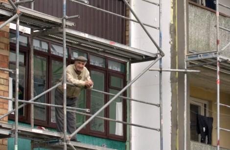Renowacja domów mieszkalnych budzi coraz większe zainteresowanie wśród właścicieli mieszkań Fot. Marian Paluszkiewicz