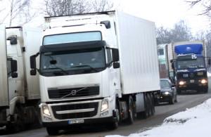 Przewoźnicy mogą dołączyć do rzesz setek tysięcy litewskich emigrantów zarobkowych Fot. Marian Paluszkiewicz