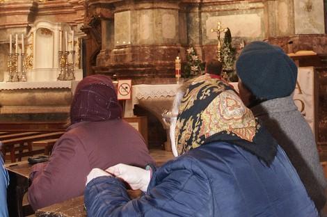 Uzdrawia głęboka wiara i modlitwa Fot. Marian Paluszkiewicz