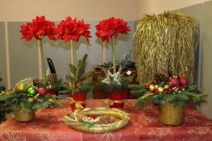 Na wystawie można podziwiać mnóstwo inspiracji świątecznych i ciekawych pomysłów