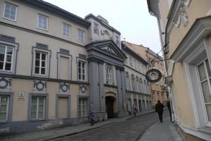 Były pałac Goreckich przy ul. Dominikańskiej w Wilnie Fot. Justyna Giedrojć