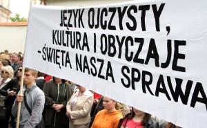 Władze powinny także wziąć pod uwagę problemy związane z oświatą, językiem oraz sprawami społecznymi Fot. Marian Paluszkiewicz