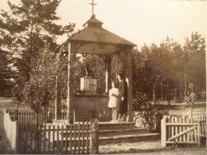 Kapliczka św. Antoniego dawniej...