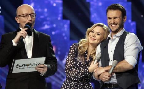 Reprezentować Litwę na tegorocznym Konkursie Eurowizji w Wiedniu będą  Monika Linkytė i Vaidas Baumila Fot. archiwum