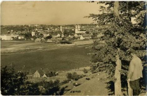 Widok Kowna okresu międzywojennego Fot. archiwum
