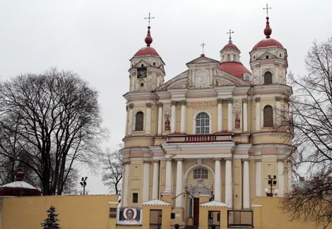 Kościół św. Piotra i Pawła — perła baroku wileńskiego Fot. Marian Paluszkiewicz