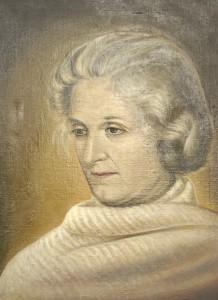 Portret Zofii Gulewicz autorstwa Anny Krepsztul