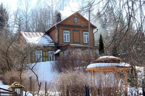 Dom w Kolonii Wileńskiej, w którym Pani Zofia spędziła blisko pół wieku