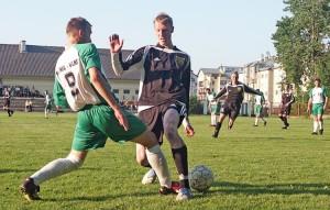 Początki piłkarskich rozgrywek były obiecujące Fot. Marian Paluszkiewicz