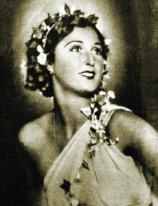 Zofia Gulewicz, z domu Wiernicka, jako baletnica Teatru Wielkiego w Warszawie