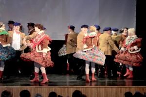 Tancerze-weterani zatańczyli strypuńską polkę Fot. Jerzy Karpowicz