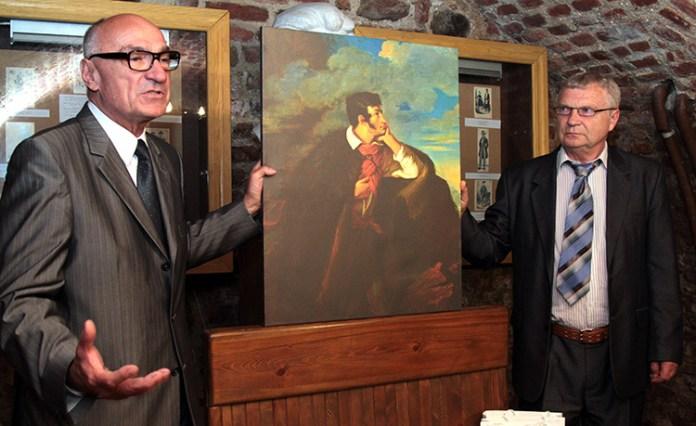 Portret Mickiewicza na Judahu skale zameldował się w Wilnie