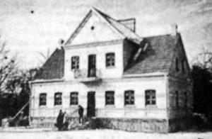 Dom Polski w Grodnie przed zakończeniem budowy Fot. Archiwum