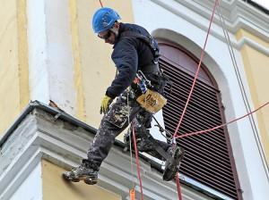 Arnoldas Sirvydis w trakcie pracy Fot. Marian Paluszkiewicz