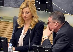 Posłanka Rita Tamašunienė     Fot. Fot. Marian Paluszkiewicz