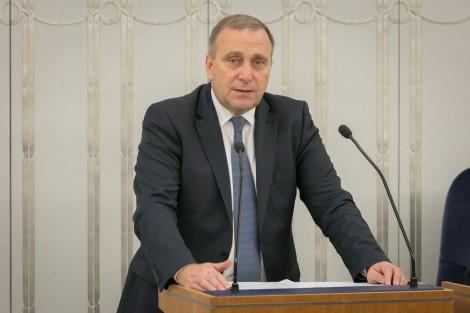 Minister spraw zagranicznych Grzegorz Schetyna Fot. Karolina Siemion-Bielska/MSZ
