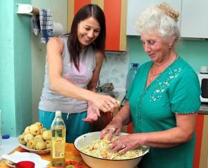 Panie Lucyna i Danuta zadziwią mistrzostwem kulinarnym