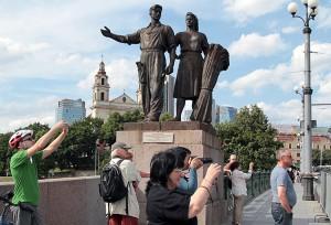 Rzeźby na Zielonym Moście miały ponad 60 lat