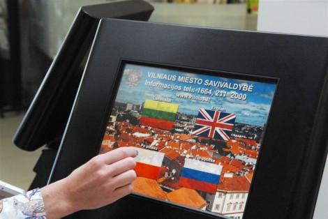 Samorząd Wilna jako pierwszy na Litwie wdrożył standard obsługi interesantów w czterech językach