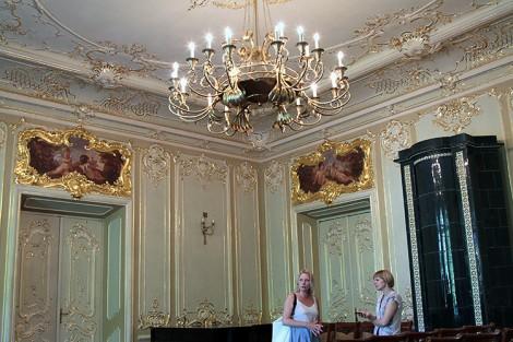 """Najpiękniejsza """"złota"""" sala ma również wspaniałą akustykę Fot. Marian Paluszkiewicz"""