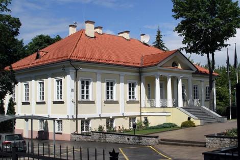 Były pałac Platerów przy ul. Tadeusza Kościuszki Fot. Marian Paluszkiewicz