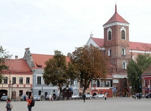 Widok Starówki kowieńskiej Fot. Marian Paluszkiewicz