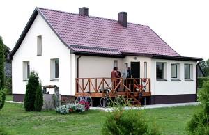 Domek, w którym mieści się wędziagolski oddział ZPL