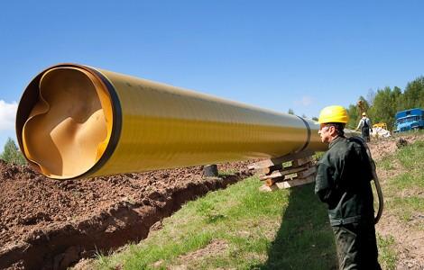 Pozbycia się nadmiaru gazu Litwie pomógłby od dawna planowany polsko-litewski gazociąg, który jednak zostanie wybudowany najwcześniej w 2020 roku Fot. Marian Paluszkiewicz