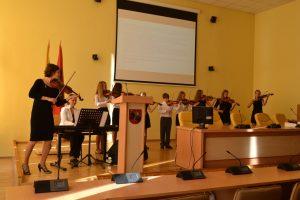 Uczniowie szkół muzycznych swymi występami uświetnili uroczyste podziękowanie